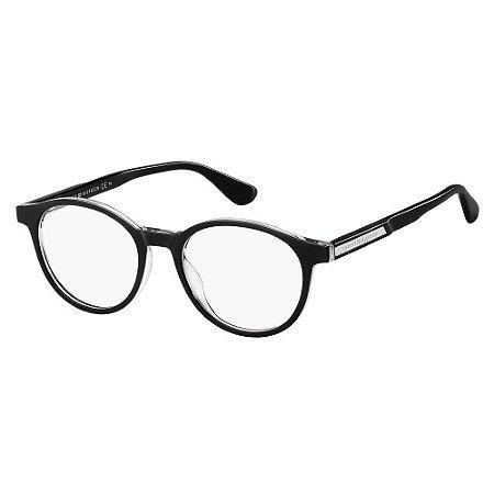 Óculos de Grau Tommy Hilfiger TH 1703/49 Preto
