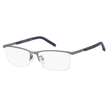 Óculos de Grau Tommy Hilfiger TH 1700/F/58 Azul