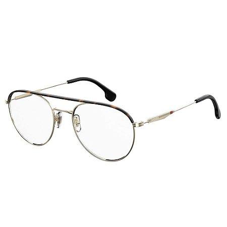 Óculos de Grau Carrera Unissex 210 54-Dourado