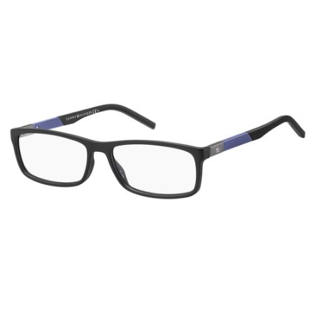 Óculos de Grau Tommy Hilfiger TH 1639/53 Preto Fosco