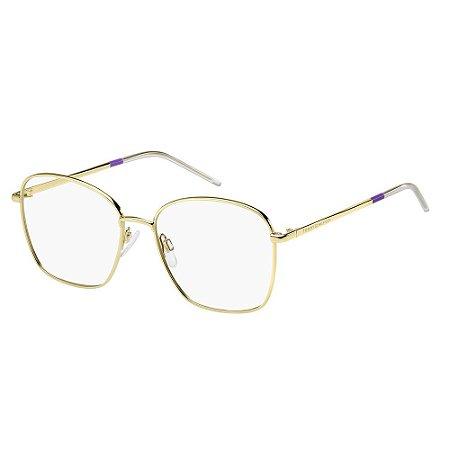 Óculos de Grau Tommy Hilfiger TH 1635/53 Branco/Dourado