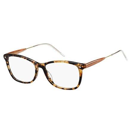 Óculos de Grau Tommy Hilfiger TH 1633/53 Havana Escuro