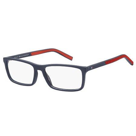 Óculos de Grau Tommy Hilfiger TH 1591/55 Azul Fosco