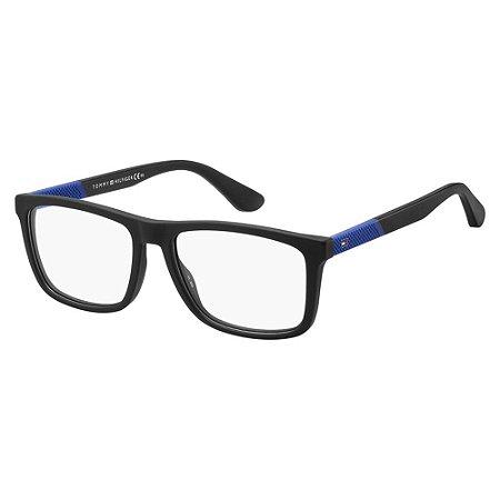 Óculos de Grau Tommy Hilfiger TH 1561/55 Preto Fosco