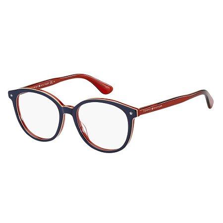 Óculos de Grau Tommy Hilfiger TH 1552/51 Azul/Multi