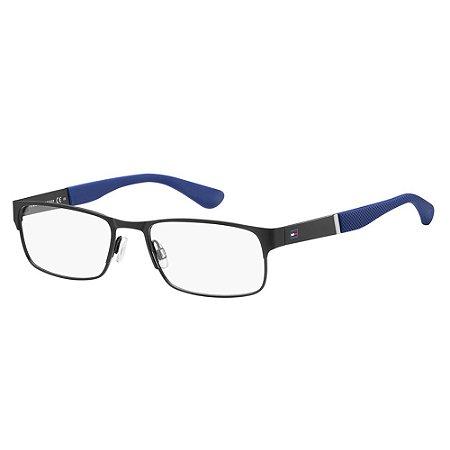 Óculos de Grau Tommy Hilfiger TH 1523/54 Preto Fosco