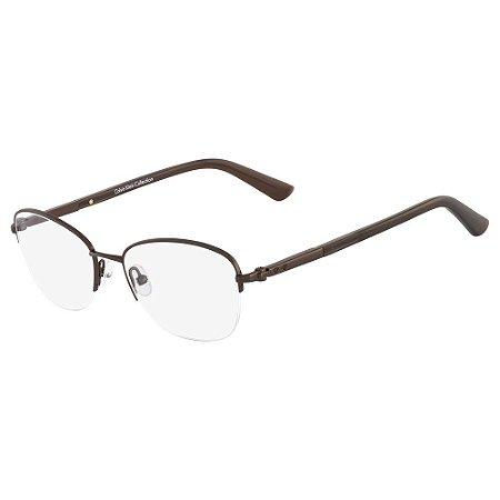 Óculos de Grau Calvin Klein CK7389 223/51 - Marrom