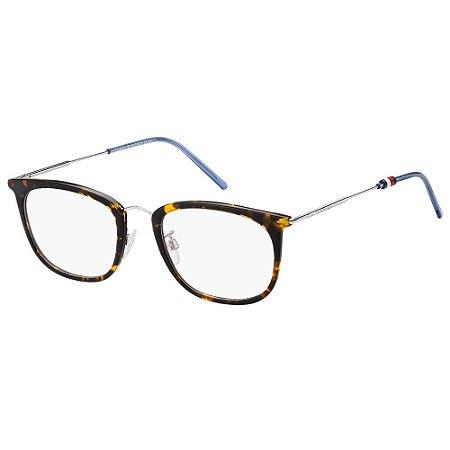 Óculos de Grau Tommy Hilfiger TH 1621/G -  54 - Marrom