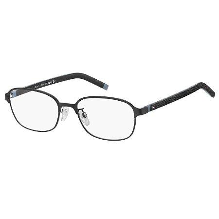 Óculos de Grau Tommy Hilfiger TH 1743/F -  55 - Preto