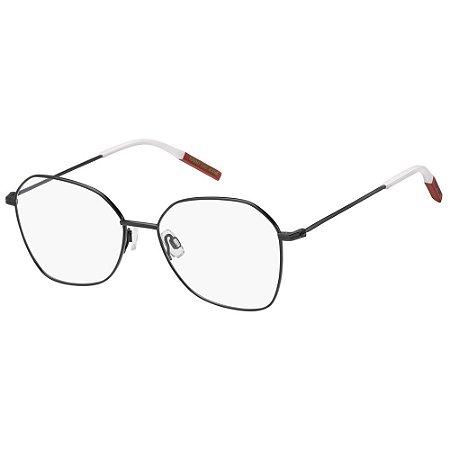 Óculos de Grau Tommy Hilfiger Jeans TJ 0016 -  54 - Preto