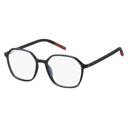 Óculos de Grau Tommy Hilfiger Jeans TJ 0010 -  51 - Cinza