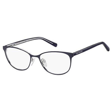 Óculos de Grau Tommy Hilfiger TH 1778 -  53 - Azul
