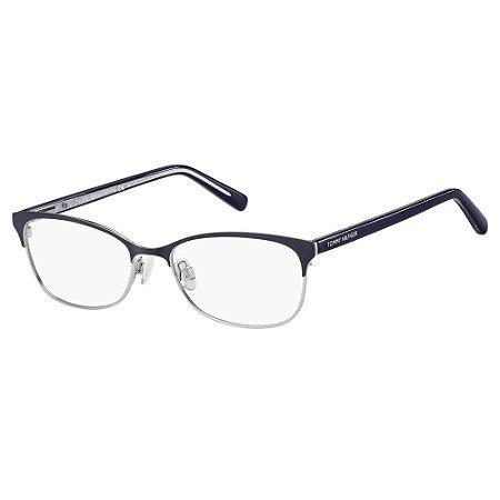 Óculos de Grau Tommy Hilfiger TH 1777 -  52 - Azul
