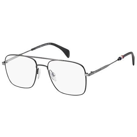 Óculos de Grau Tommy Hilfiger TH 1537 -  55 - Cinza