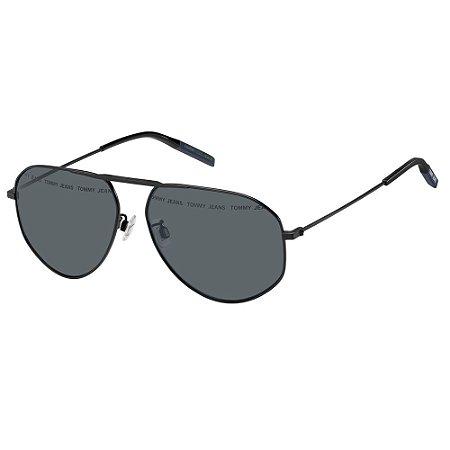 Óculos de Sol Tommy Hilfiger Jeans TJ 0029/S -  59 - Preto