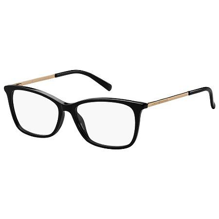 Óculos de Grau Tommy Hilfiger TH 1589 -  53 - Preto