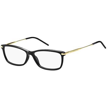 Óculos de Grau Tommy Hilfiger TH 1636 -  55 - Preto