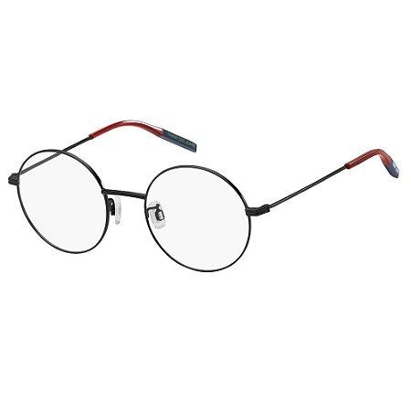 Óculos de Grau Tommy Hilfiger Jeans TJ 0023 -  49 - Preto