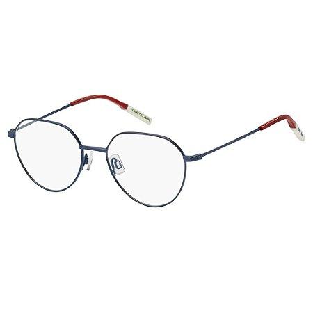 Óculos de Grau Tommy Hilfiger Jeans TJ 0015 -  51 - Azul
