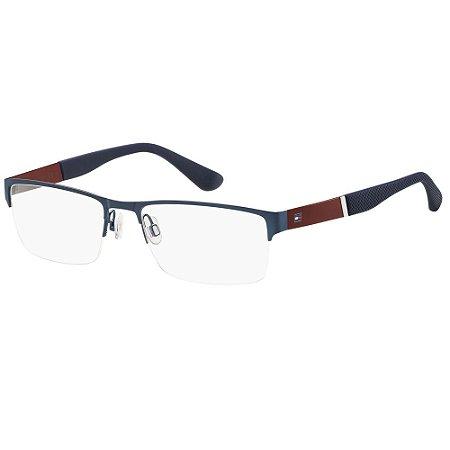 Óculos de Grau Tommy Hilfiger TH 1524 -  55 - Azul