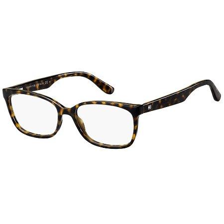 Óculos de Grau Tommy Hilfiger TH 1492 -  53 - Marrom
