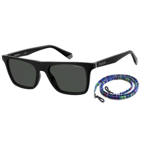 Óculos de Sol Polaroid Pld 6110/S  53 - Preto - Polarizado