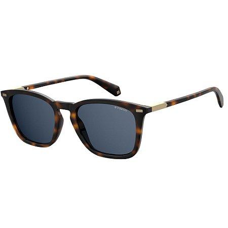Óculos de Sol Polaroid Pld 2085/S  52 - Marrom - Polarizado