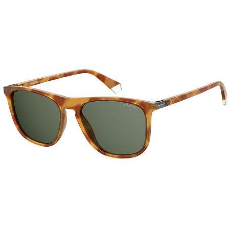 Óculos de Sol Polaroid Pld 2092/S  56 - Marrom - Polarizado