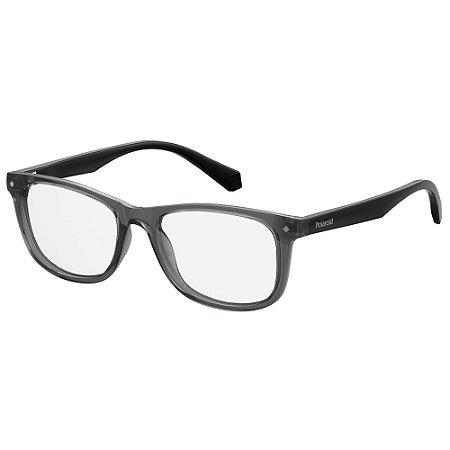 Óculos de Grau Polaroid Pld D813 -  48 - Cinza