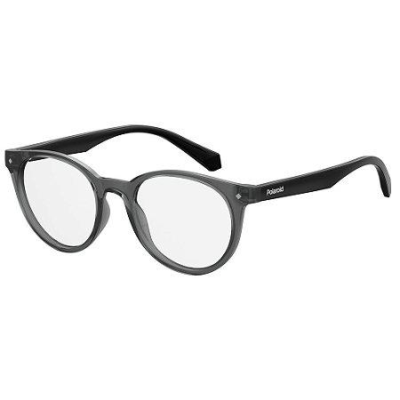 Óculos de Grau Polaroid Pld D814 -  45 - Cinza