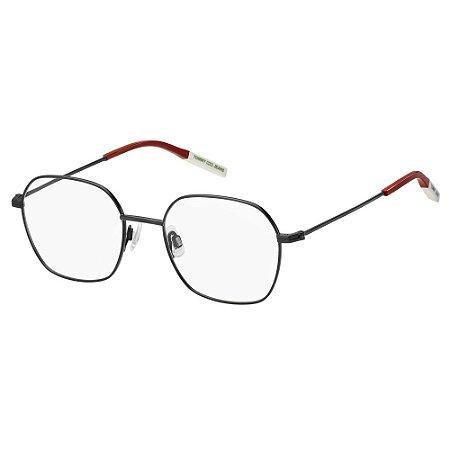 Óculos de Grau Tommy Hilfiger Jeans TJ 0014 -  50 - Preto