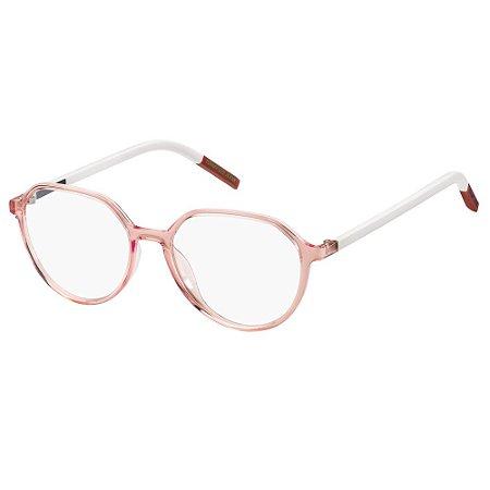 Óculos de Grau Tommy Hilfiger Jeans TJ 0011 -  50 - Rosa