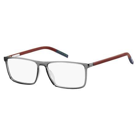 Óculos de Grau Tommy Hilfiger Jeans TJ 0019 -  55 - Cinza
