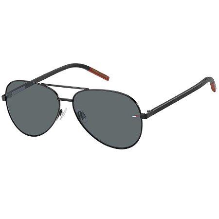 Óculos de Sol Tommy Hilfiger Jeans TJ 0008/S -  60 - Preto