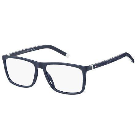Óculos de Grau Tommy Hilfiger TH 1742 -  53 - Azul