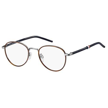 Óculos de Grau Tommy Hilfiger TH 1687 -  50 - Cinza