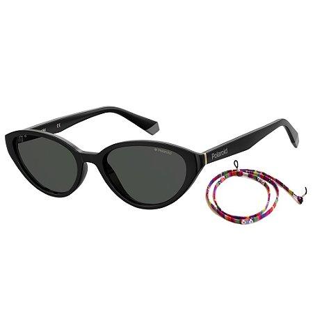 Óculos de Sol Polaroid Pld 6109/S  53 - Preto - Polarizado