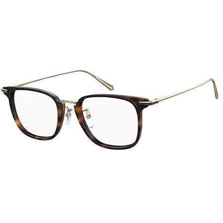 Óculos de Grau Polaroid Pld D384/G -  51 - Marrom