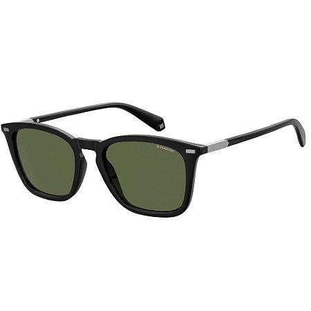 Óculos de Sol Polaroid Pld 2085/S  52 - Preto - Polarizado