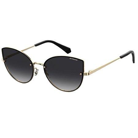 Óculos de Sol Polaroid Pld 4092/S  58 - Dourado - Polarizado