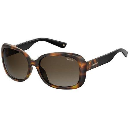 Óculos de Sol Polaroid Pld 4069/G/S/X -  59 - Marrom