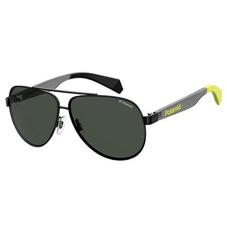 Óculos de Sol Polaroid Pld 8034/S  55 - Preto - Polarizado