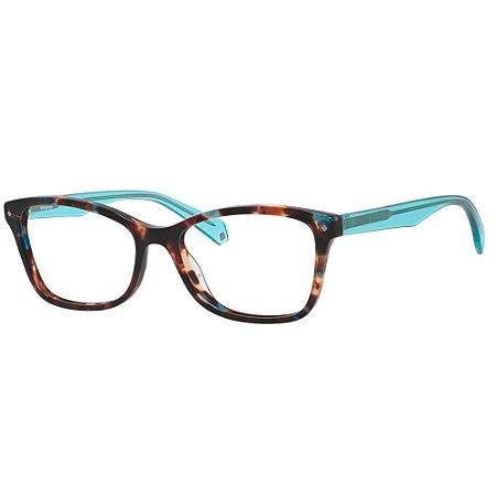 Óculos de Grau Polaroid Pld D320 -  53 - Azul