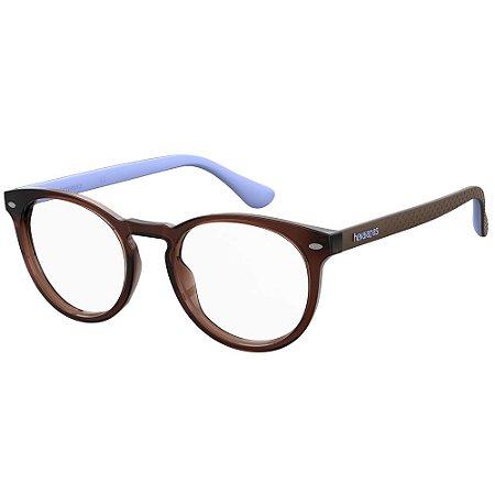 Óculos de Grau Havaianas Eva/V -  50 - Marrom