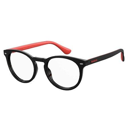 Óculos de Grau Havaianas Eva/V -  50 - Preto