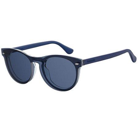 Óculos de Sol Havaianas Eva/Cs -  50 - Azul - Clip-on