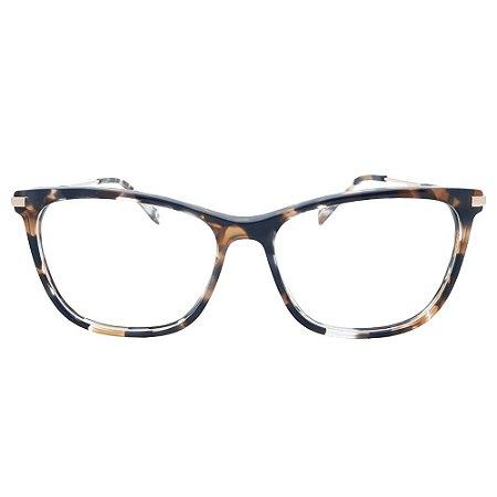 Armação de Óculos Hickmann HI6185 G21 - 54 - Marrom