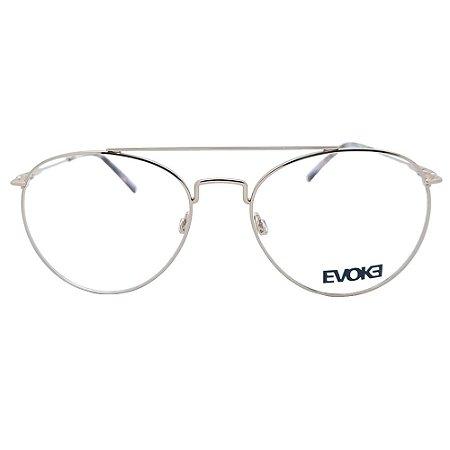 Armação de Óculos Evoke For You DX104 01A - 52 - Dourado