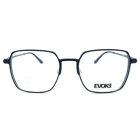 Armação de Óculos Evoke EVK RX30 09B - 53 - Preto