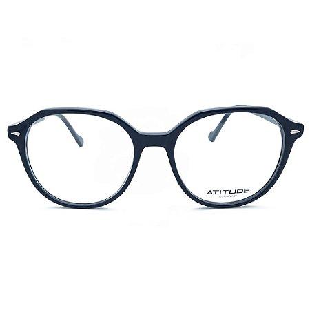 Armação de Óculos Atitude AT7150 A01 - 53 - Preto